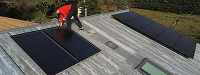 Installation chauffe eau solaire Die Drôme