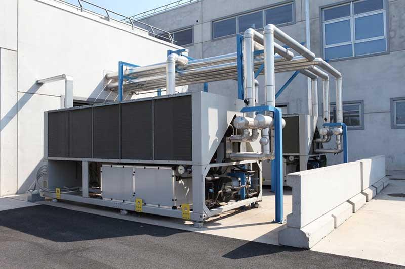 Installation pompe à chaleur pour secteur industriel Die